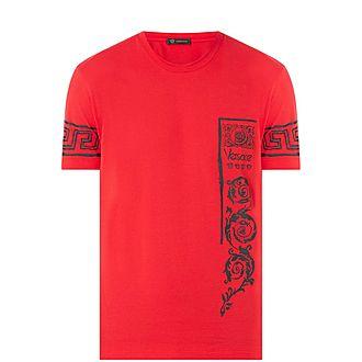 Grecian Print T-Shirt
