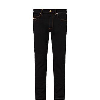 Pin Detail Jeans