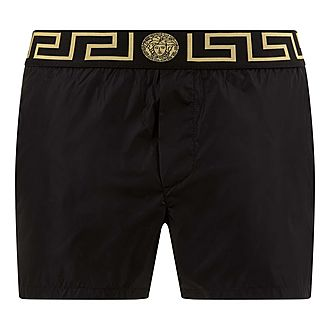 Greco Border Swim Trunks