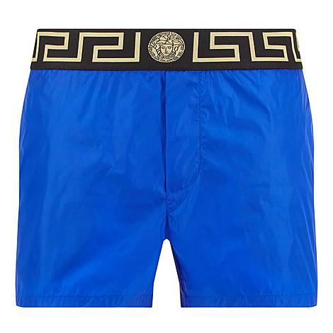 Greco Border Swim Shorts, ${color}