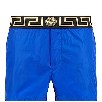 Greco Border Swim Shorts