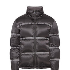 Tape Logo Padded Jacket