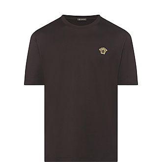Crew Neck Medusa Logo T-Shirt