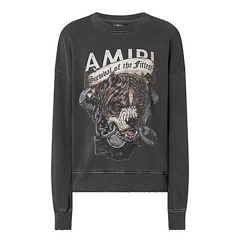 Pitbull Crew Neck Sweatshirt, ${color}