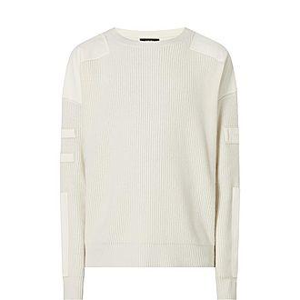 Military Patch Sweatshirt