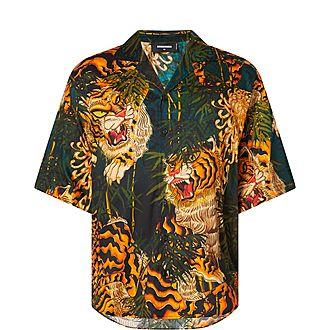 Tiger Print Shirt
