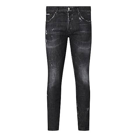 Mercury Distressed Slim Fit Jeans, ${color}
