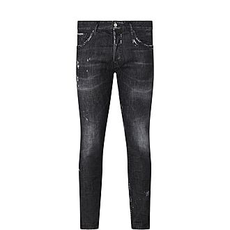 Mercury Distressed Slim Fit Jeans