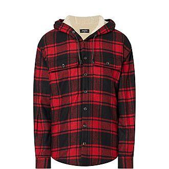 Flannel Shearling Jacket