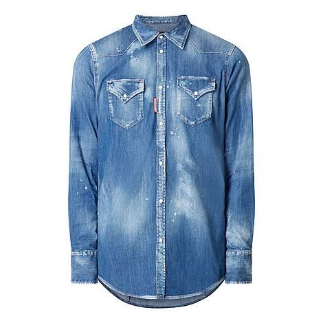 Western Denim Shirt, ${color}