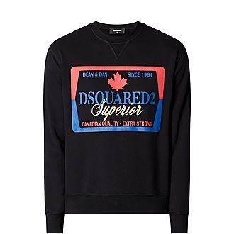 Beer Label Sweatshirt