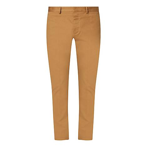 Stretch Cotton Trousers, ${color}
