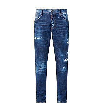 Distressed Skater Skinny Jeans