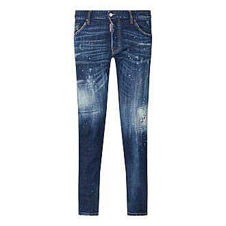 Cool Guy Distressed Slim Jeans