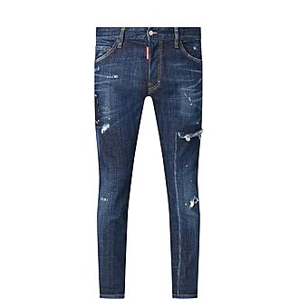 Distressed Cool Guy Jeans