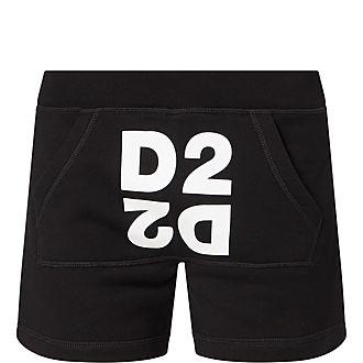 Mirror Logo Sweat Shorts