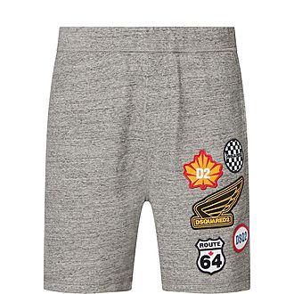 Logo Patch Sweat Shorts