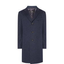Formal Wool-Cashmere Overcoat