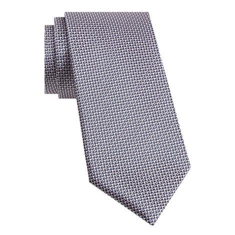Dot Link Silk Tie, ${color}