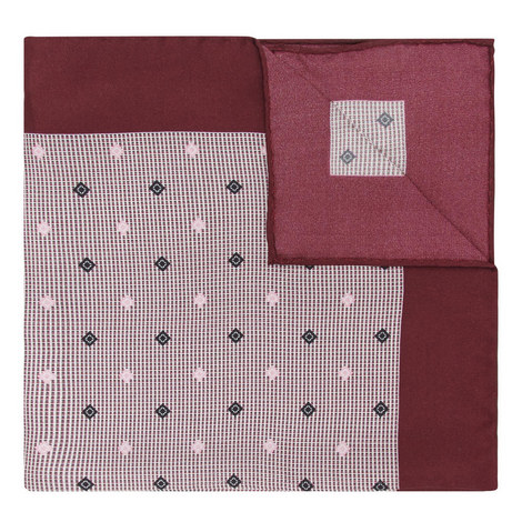 Micro-Pattern Pocket Square, ${color}