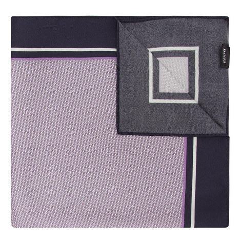 Micro-Print Pocket Square, ${color}
