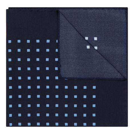 Square Print Pocket Square, ${color}