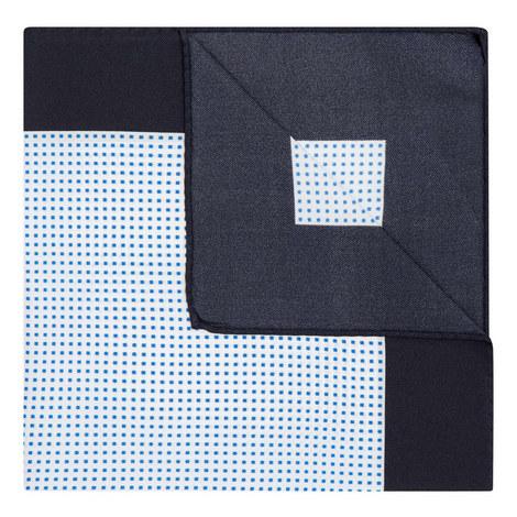 Micro-Square Print Pocket Square, ${color}