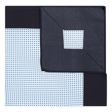 Micro-Square Print Pocket Square