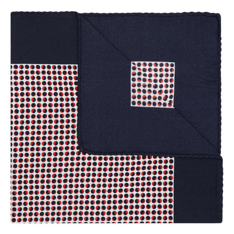 Micro-Circle Pocket Square, ${color}