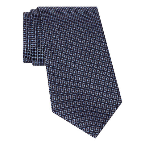 Diamond Square Silk Tie, ${color}