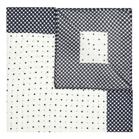Geometric Traveller Pocket Square, ${color}