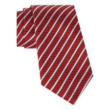 Ribbed Striped Tie