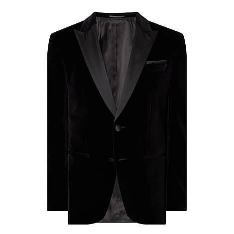 Helward Velvet Suit Jacket, ${color}