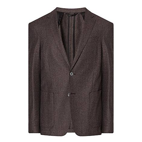 Nold Micro Check Jacket, ${color}