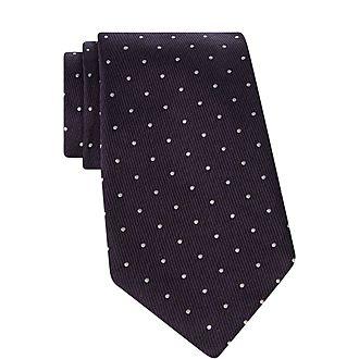 Jacquard Dot Tie