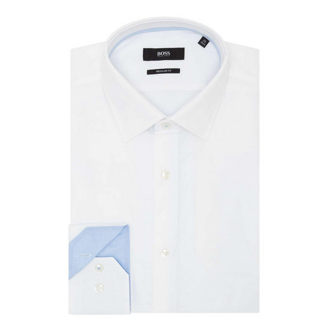 Gelson Trimmed Oxford Shirt, ${color}