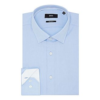 Gelson Trimmed Oxford Shirt