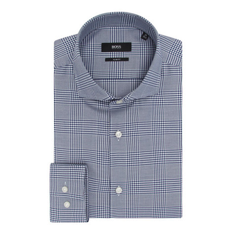 Houndstooth Formal Shirt, ${color}
