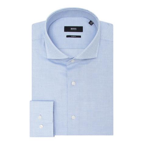 Jason Grid Print Shirt, ${color}
