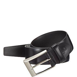 Leather Buckle Suit Belt