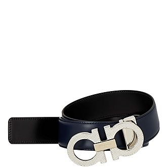 Adjustable Gancini Belt