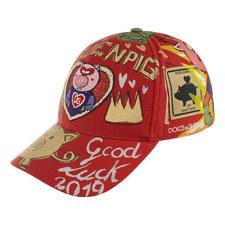 Golden Pig Cap