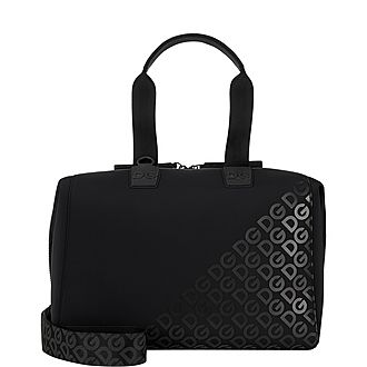 Embossed Holdall Bag