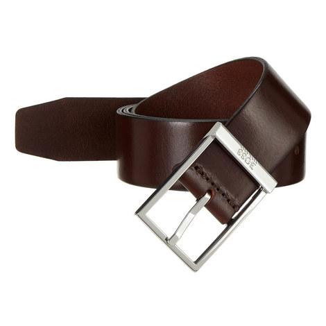 Cyrus Leather Belt, ${color}
