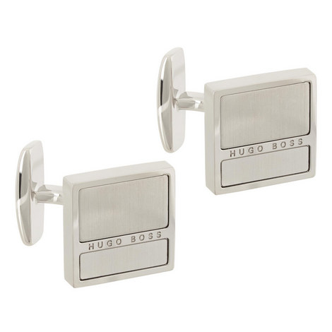 Brushed Nick Square Cufflinks, ${color}