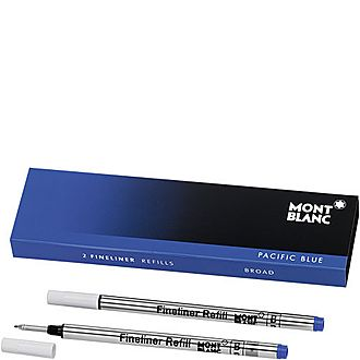 2 Fineliner Refills (B) Pacific Blue