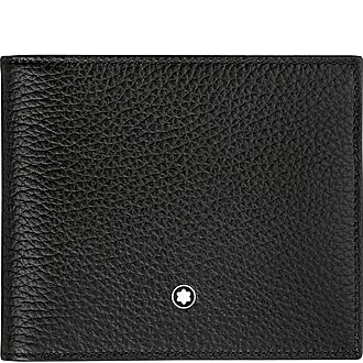 Soft Grain Billfold 8cc Wallet