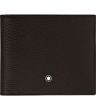 Soft Grain Billfold 8cc Wallet