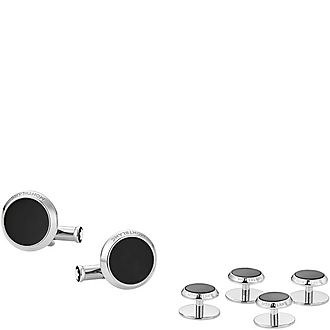 Tuxedo Studs and Cufflinks Set