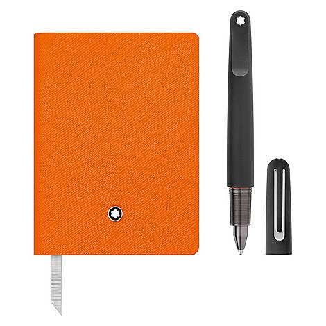 Montblanc M Ultra Ballpoint Pen & Lined Notebook #145 Gift Set, ${color}